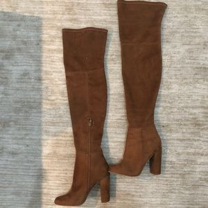 ALDO Over the Knee Brown Suede boots
